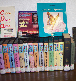 Libros y Videocintas